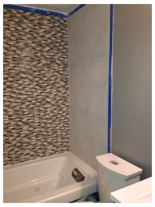 Frameless Glass Shower Doors Or A Curtain I Feel If We Have All That Tile Is Going To Cover It Compete With