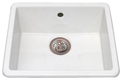 Ceramic Utility Sink : Kitchen Sinks: Easy-Clean, Surprisingly Affordable Ceramic