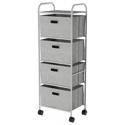 Contemporary Utility Carts by Trademark Global