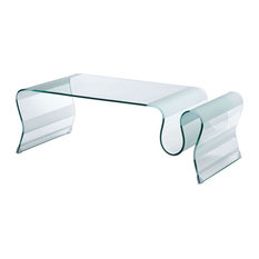 Zuo Modern Contemporary   Zuo Home Livingroom Discovery Coffee Table Clear    Coffee Tables Part 63