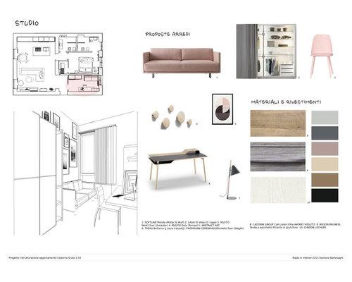 Corso Base Interior Design Progetto Esame Di Ramona Bartesaghi