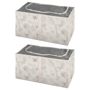 Butterfly Storage Boxes, Set of 2