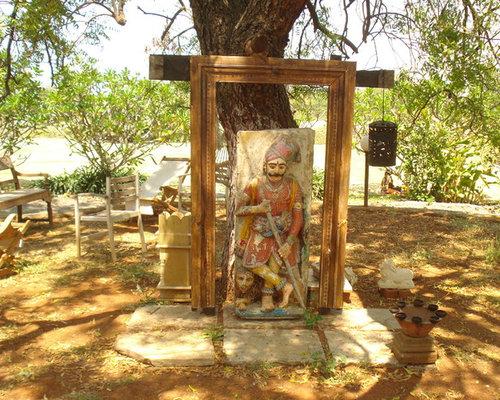 reclaimed teak wood furniture - Garden Statues And Yard Art