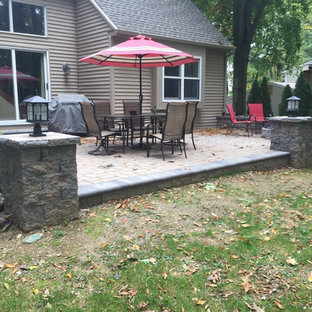 Couple of different jobs using e.p Henry old towne cobble