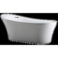 Rachel Acrylic White Bathtub