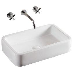 Cute Contemporary Bathroom Sinks by TheBathOutlet