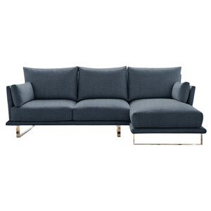 Eleanor Chaise Sofa, Windsor, 3-Seater Right Hand Facing