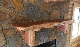 Rustic Mantels and Shelves