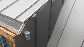 Metal - zinc roofing, Bath, UK