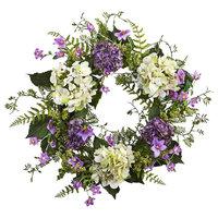 Hydrangea Berry Wreath in Multicolor