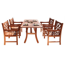 Vintage Traditional Outdoor Dining Sets by Vifah