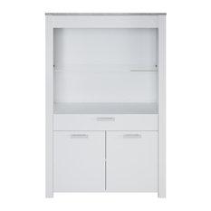 Meubles Demeyere   Florida White Display Cabinet   Display Cabinets U0026  Dressers