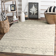 Safavieh C Woven Rug Ivory And Silver 8 X10