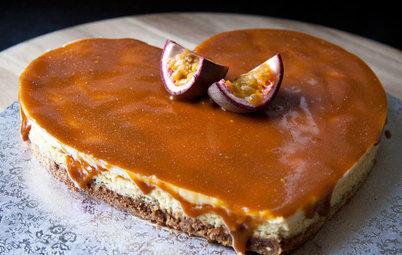 Aux fourneaux : Un cheesecake au gingembre et caramel passion