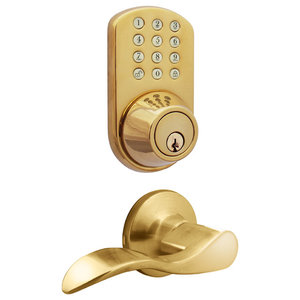 Milocks Digital Door Knob Lock With Keyless Entry Via