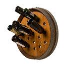 Round Wine Barrel Wine Rack
