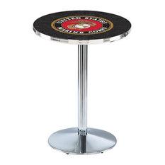 U.S. Marines Pub Table 36-inchx36-inch