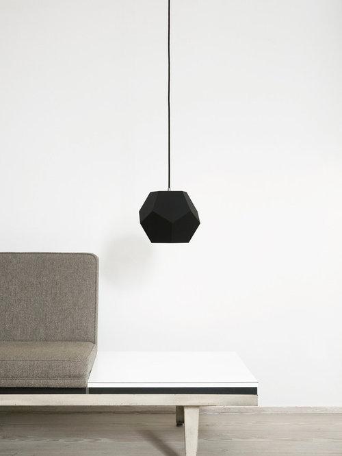 Dode i sort linoleum - design af Thor Høy - Pendler