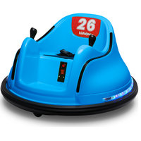 Race #00-99 6V Kids Toy Electric Ride On Bumper Car ASTM-certified, Blue