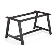 plateaux et pieds de tables contemporains. Black Bedroom Furniture Sets. Home Design Ideas