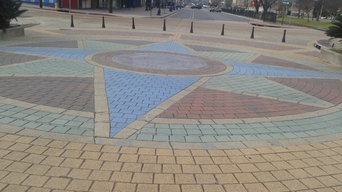 Custom Paver Art