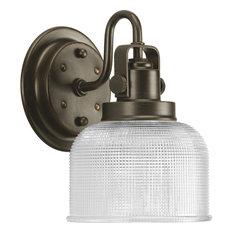 Archie Collection 1-Light Bath Light, Venetian Bronze
