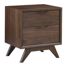 MOD - Palm Springs 2-Drawer Mid Century Nightstand - Nightstands and Bedside Tables