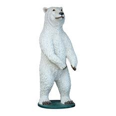 Polar Bear 7.25' Life Size Statue - Resin Prop Display