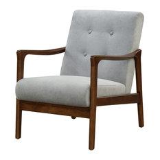 Nicholas Arm Chair, Studio Gray