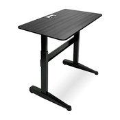 "Iceberg Enterprises Pneumatic Adjustable-Height Table, Black, 47""x27"""