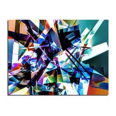 Indoor/Outdoor Wall Decor 'Vibrant Geo II', ArtPlexi, 30x40