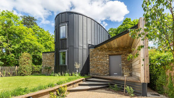 New build eco-friendly dwelling, Somerset
