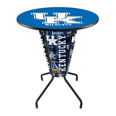 Lighted Kentucky -inchUK-inch Pub Table by Holland Bar Stool Company