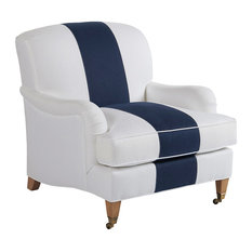 Sydney Chair With Brass Caster