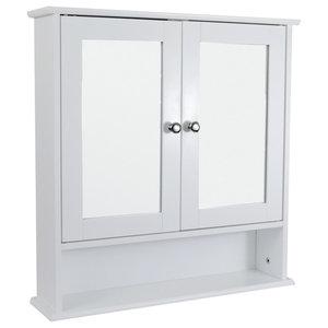 Bath Vida 2-Door Milano Wall Cabinet With Shelf