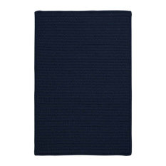 Colonial Mills, Inc - 8' Square (Large 8x8) Rug, Navy (Blue) Indoor/Outdoor Carpet - Outdoor Rugs