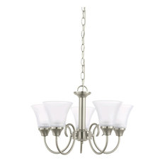 Sea Gull Lighting 5-Light Chandelier, Brushed Nickel