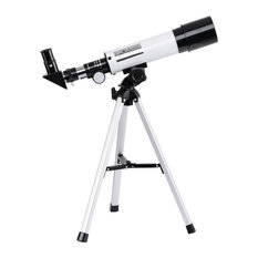 Kids 50Mm Astronomical Refractor Telescope, Refractive Eyepieces Tripod