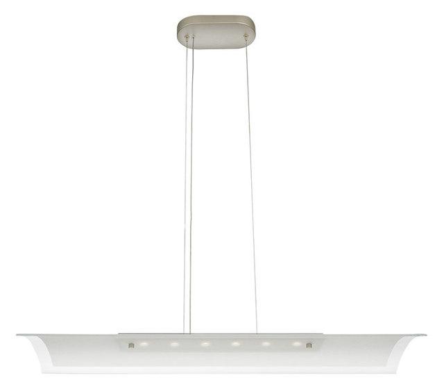Philips ledino 6 light led pendant ceiling light aluminium