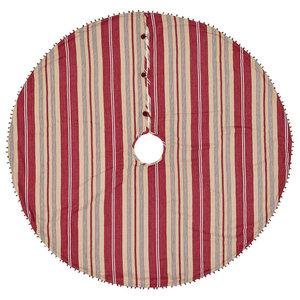 Vintage Stripe Tree Skirt