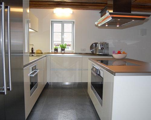 Denkmalgeschützes Fachwerkhaus und moderne Küche