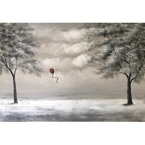 """WinterDream"" Acrylic Painting, 115x80 cm"
