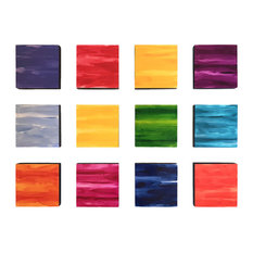 Large Colorful Wall Sculpture, Installation