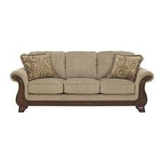 Ashley Furniture Homestore   Ashley Lanett Fabric Sofa, Barley   Sofas