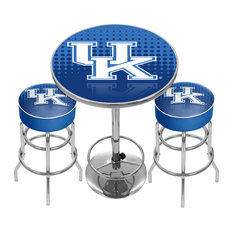 University of Kentucky Game Room Combo, 2 Bar Stools and Table