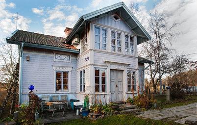 Houzz Tour: Kråkslottet i Uppland fylldes med teaterminnen och kärlek