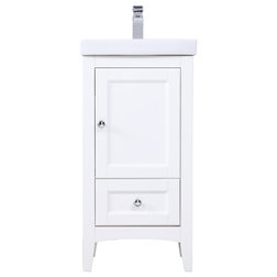 Contemporary Bathroom Vanities And Sink Consoles by Elegant Furniture & Lighting