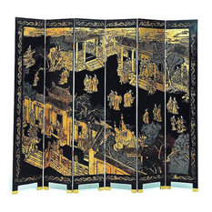 Imperial Court 6-Panel Screen