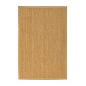 """""""Maritime"""" Seagrass Rug, Beige, 8' X 10', Contemporary"""