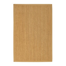 """""""Maritime"""" Seagrass Rug, Beige, 5' X 8', Contemporary"""